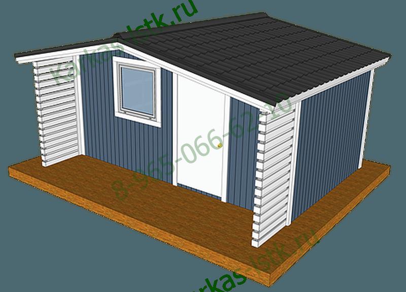 Металлокаркасные дома