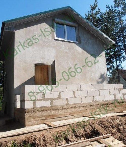 Дом из газобетона: строительство в спб и ло