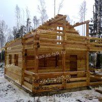 Портфолио сайта karkas-lstk.ru: баня из бруса фото