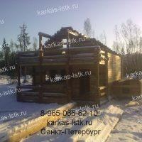 Портфолио сайта karkas-lstk.ru: бани из бруса