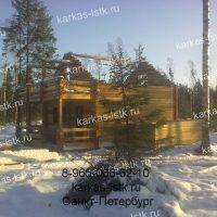 Портфолио сайта karkas-lstk.ru: бани из бруса фото