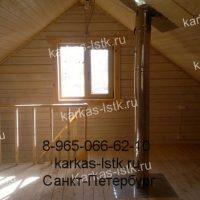 Портфолио сайта karkas-lstk.ru: Бани из бруса вид изнутри