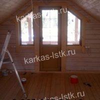 Портфолио сайта karkas-lstk.ru: купить баню из бруса