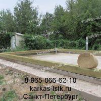 Портфолио сайта karkas-lstk.ru: этапы строительства бани