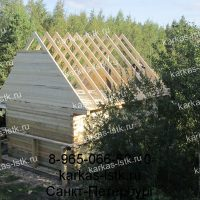 Портфолио сайта karkas-lstk.ru: баня из бруса 150*150