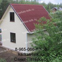 Портфолио сайта karkas-lstk.ru: баня из бруса с отделкой сайдингом