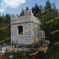 строительство дома на участке