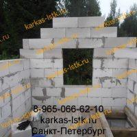 строительство домов лужский район