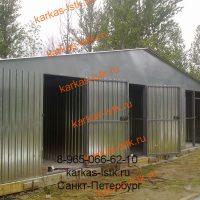 Металический гараж цена