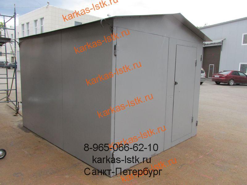 гараж для квадроцикла и техники