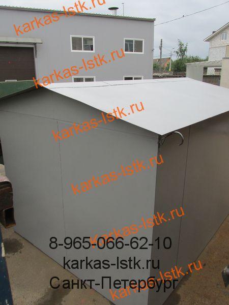 металлический гараж для дачи