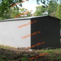 Металический гараж во дворе: портфолио сайта karkas-lstk.ru
