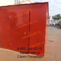 Металический гараж на производстве: портфолио сайта karkas-lstk.ru