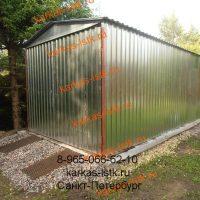 Металический гараж: портфолио сайта karkas-lstk.ru