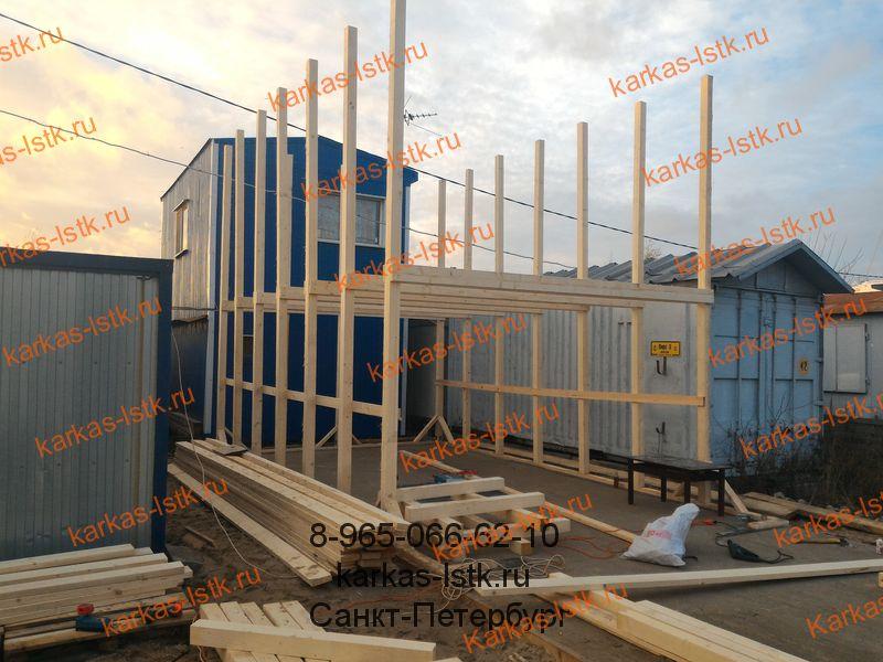 построить гараж для катера на берегу