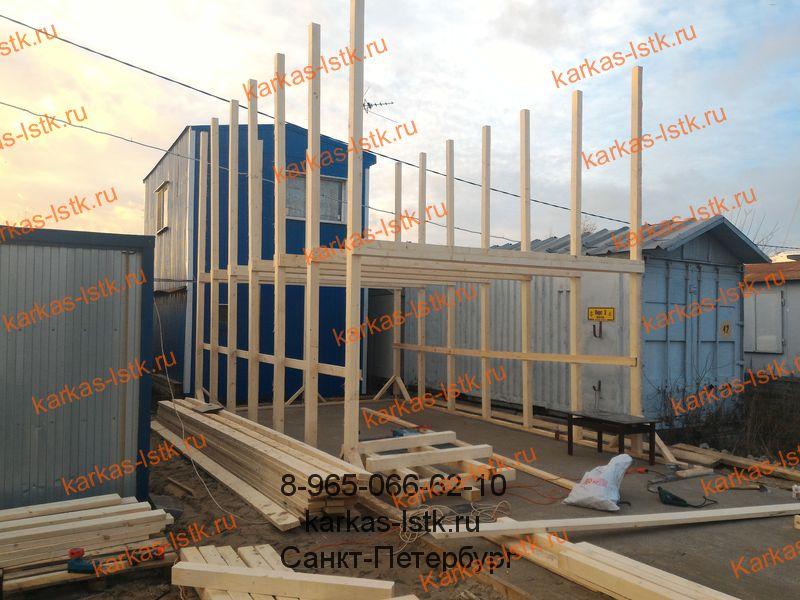 построить гараж в яхт-клубе