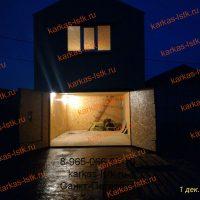 Каркасный гараж в кооперативе: портфолио сайта karkas-lstk.ru