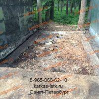 Каркасный гараж в кооперативе, нулевой цикл: портфолио karkas-lstk.ru