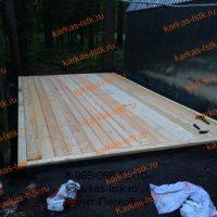 Монтаж деревянного пола в гараже: портфолио karkas-lstk.ru