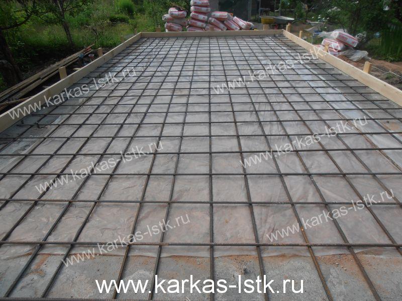 Фундамент под дом из газобетона в Ленинградской области
