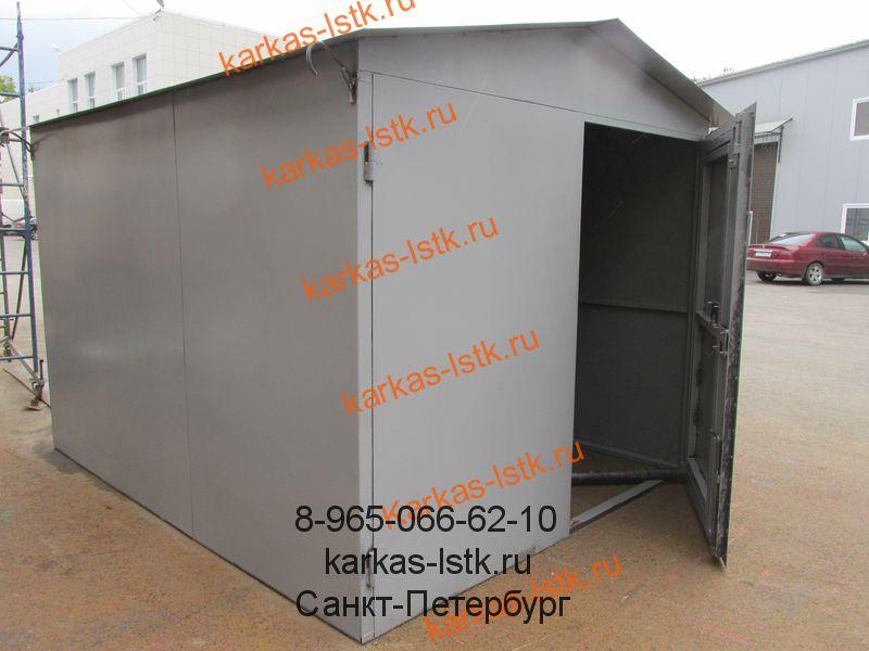 гараж от прямого производителя в Петербурге