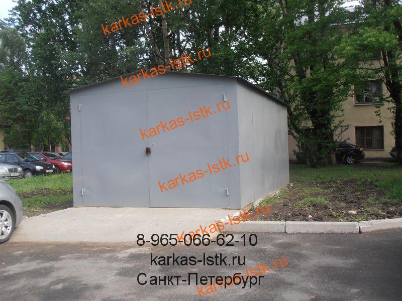 заводской классический гараж