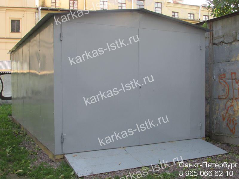 Цены на стальные гаражи в Петербурге