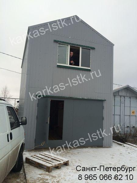 готовый гараж с жилой зоной под ключ
