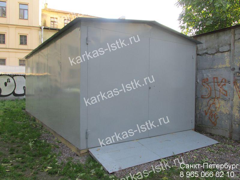 Постройка гаража в гаражном кооперативе