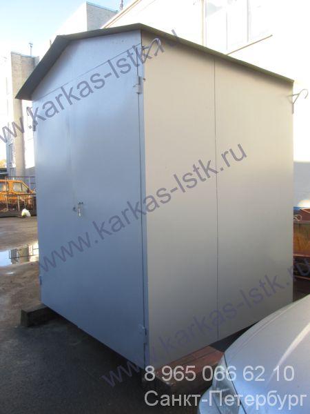 шкаф металлический пристенный для кислородных баллонов
