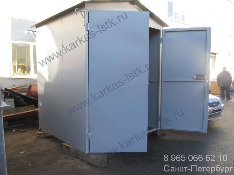 контейнер будка цельносварной для гсм