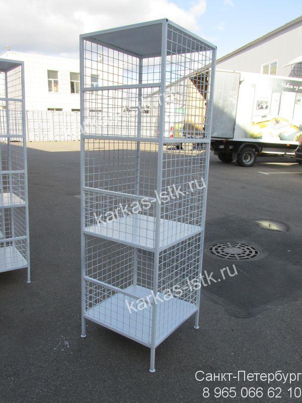 Ограждения для поддонов (паллет); паллет боксы с откидным бортом; стеллажи и контейнеры - изготовление в Москве