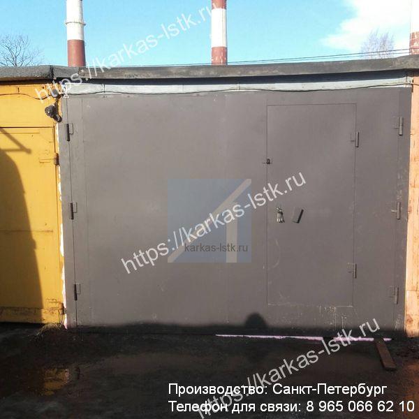 ворота гаражные стальные цены в санкт-петербурге