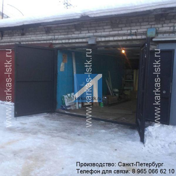 ворота для кирпичного гаража купить