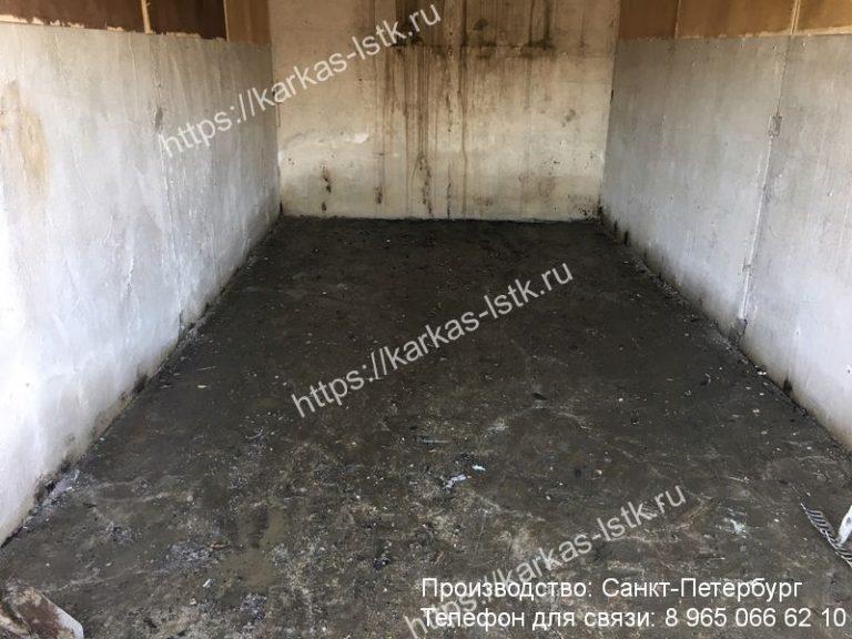 заливка пола в гараже бетоном цена