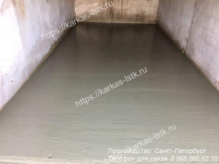 цена заливки бетонного пола в гараже