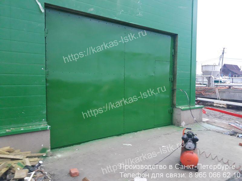монтаж ворот для склада цена