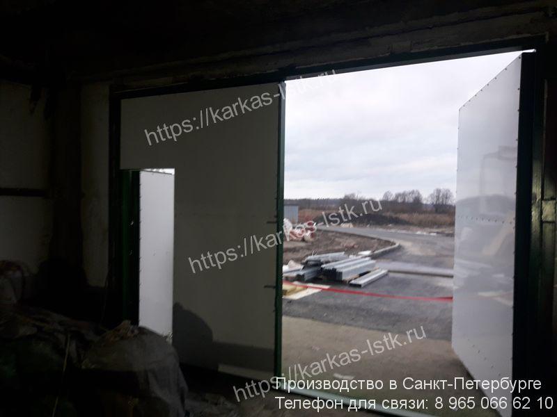 промышленные ворота купить в санкт-петербурге