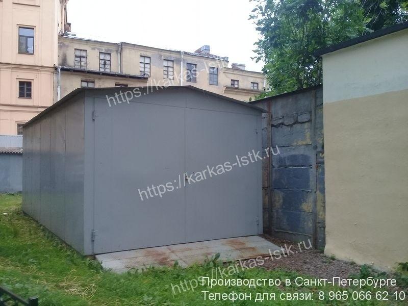 стальные гаражи от изготовителя цены