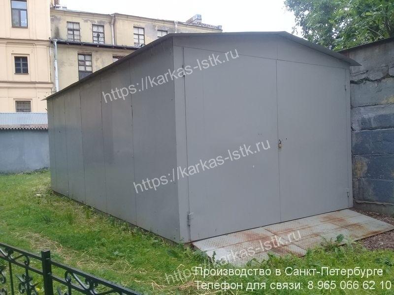 вандалоустойчивый гараж для двора цена