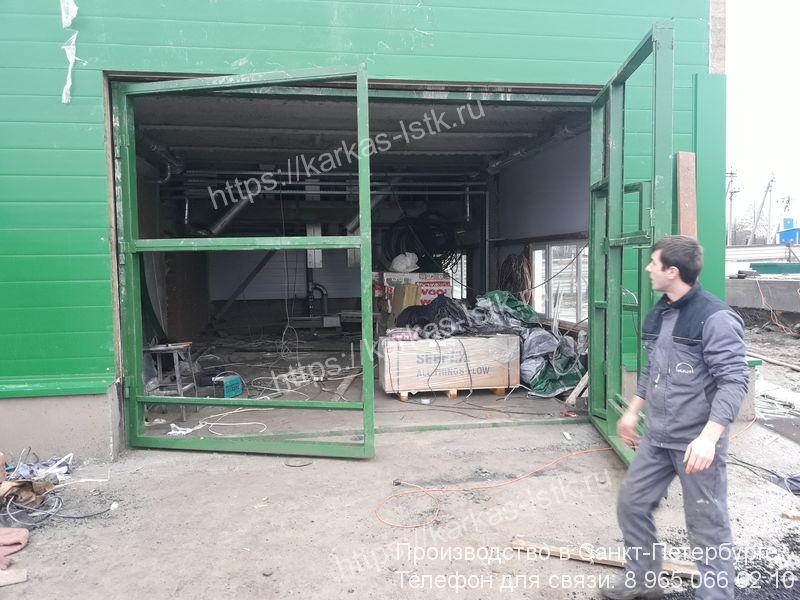 ворота для производственного помещения цена