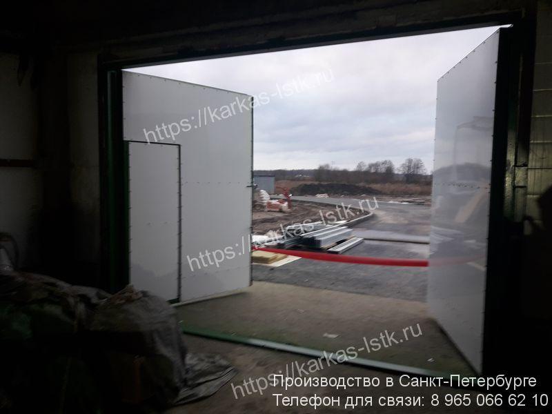 ворота для склада купить в санкт-петербурге