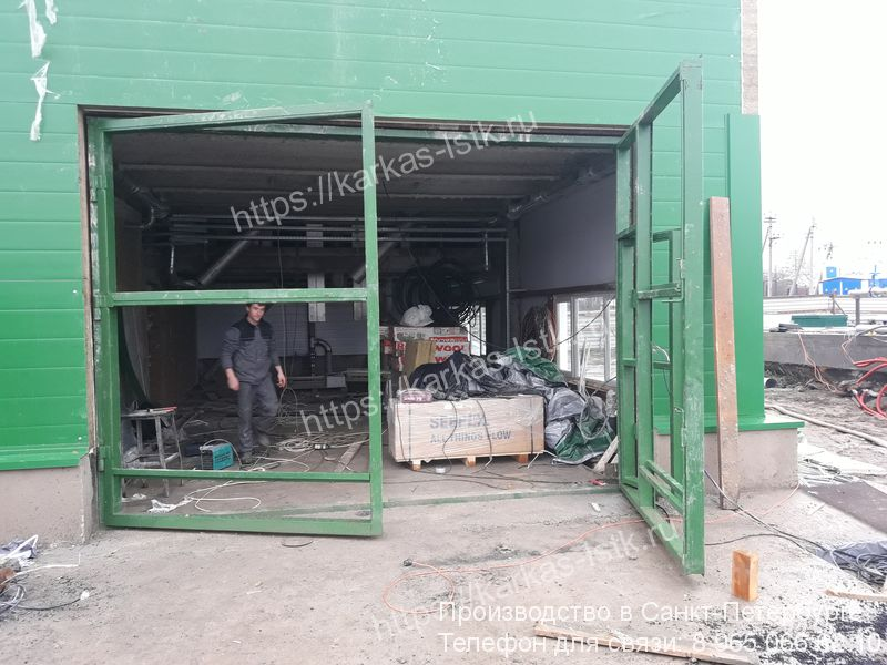 ворота для склада цена с установкой