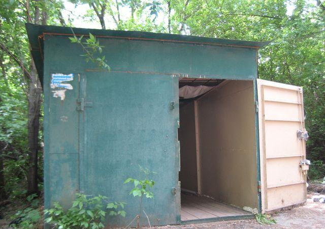 установка технических ворот для склада