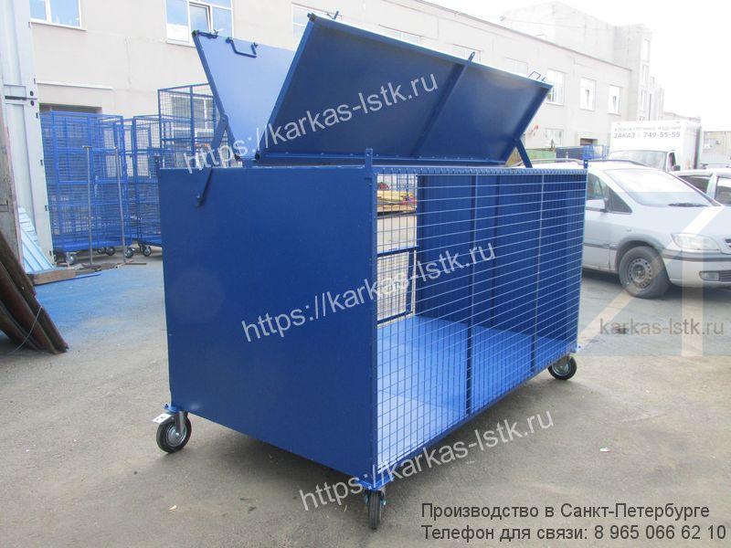 контейнеры для сбора картона