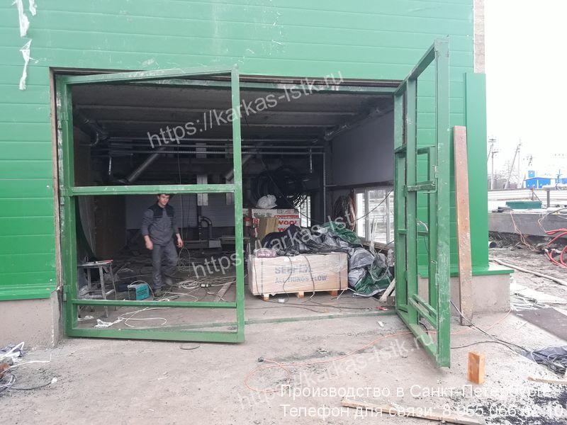 установка ворот для склада стоимость