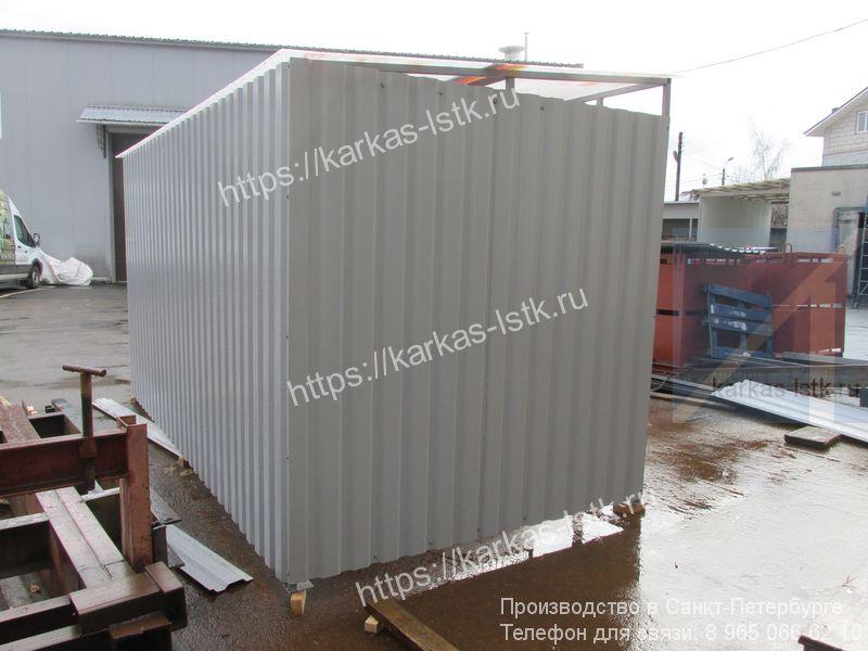 ограждение для мусорных контейнеров купить