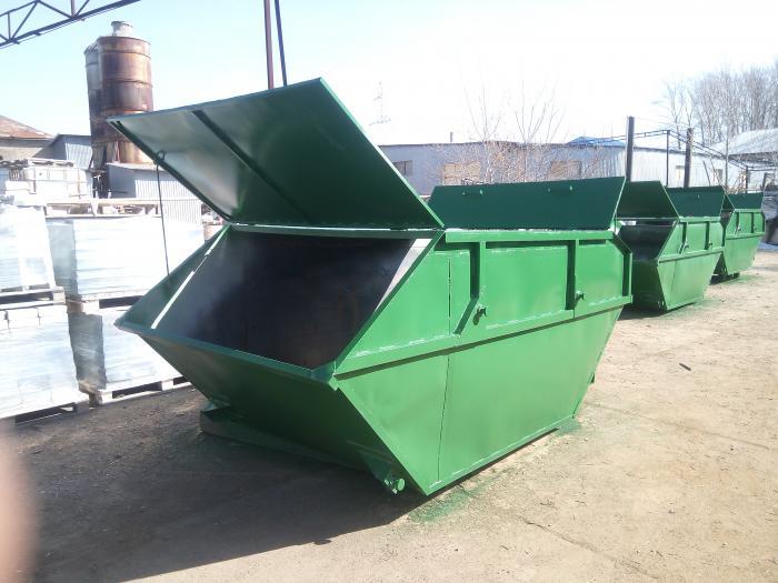 контейнеры с крышками для отходов купить