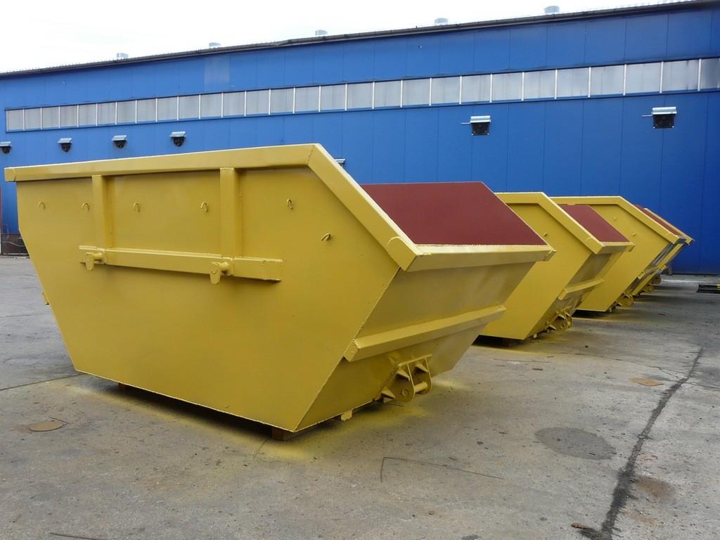 контейнеры для строительных отходов с зацепами купить