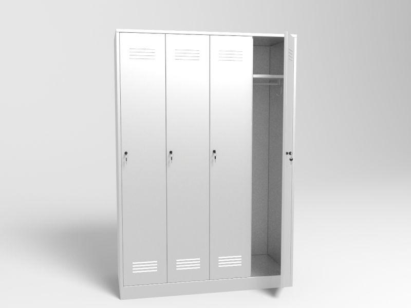 шкаф гардеробный для медицинской одежды